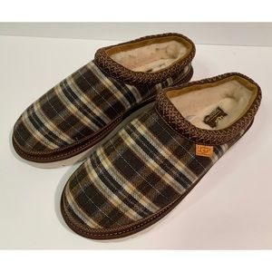 Ugg Pendleton Tasman Plaid Slippers Wool Size 10